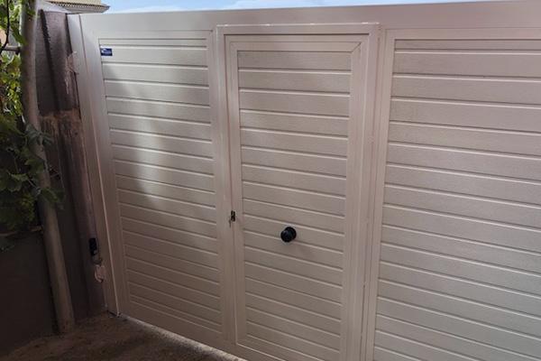 puerta automatica batiente 6