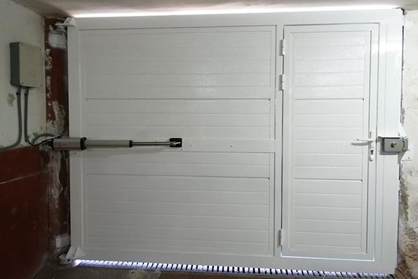 puerta automatica batiente 7