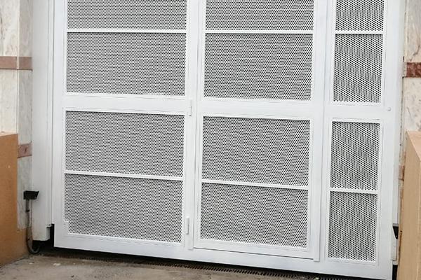 puerta automatica batiente 9
