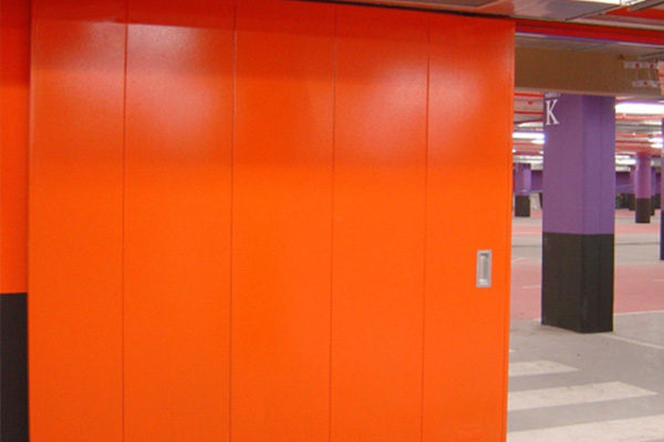 Puerta Corredera Cortafuegos